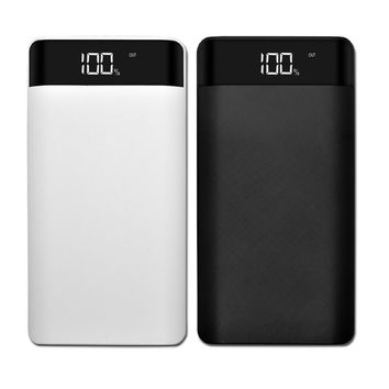 5V 2A Power Bank Case Kit 8 x 18650 DIY Battery Charger Case Box LCD Display Powerbank Case Shell Case For Cell Phone Charger