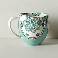 Gloriosa Mug by Anthropologie Yellow Mug Mugs