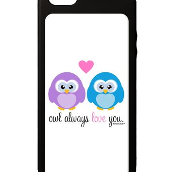 Owl Always Love You iPhone 5C Grip Case  by TooLoud