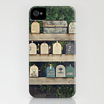 Mailboxes iPhone Case by Around the Island (Robin Epstein) | Society6