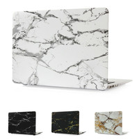 Hard Case Protector With Marble Pattern For MacBook 12 inch Air 11 13 inch Pro 13 15 inch Retina 13 15 inch