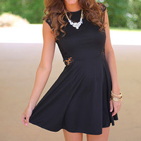 See Me Now Dress, Black