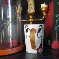 Chip Coffee Mug, Beauty And The Beast Mug, Disney Coffee Mug
