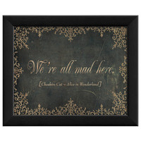 We're All Mad Here by Artwork Enclosed at Gilt