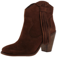 Jessica Simpson Colver Women's Western Fringe Boots