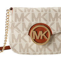 MICHAEL Michael Kors Fulton Small Crossbody Vanilla - Zappos.com Free Shipping BOTH Ways