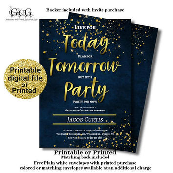 Graduation invitations 2018 - Graduation Announcement - High School Graduation - Printable Graduation invite - Graduation Party Invitations