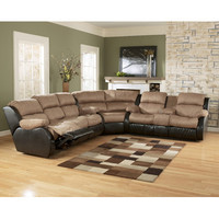 Signature Design by Ashley Oxford Reclining Sectional & Reviews | Wayfair