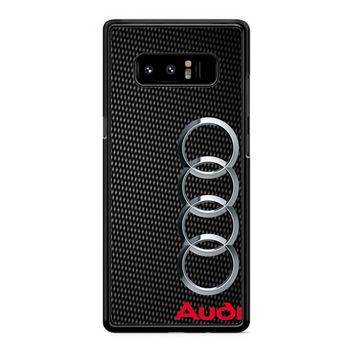 Audi Logo 7 Samsung Galaxy Note 8 Case