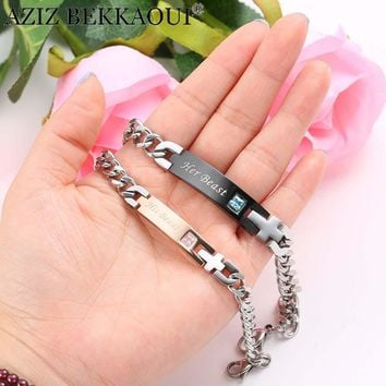 Women Stainless Steel Link Chain Fashionable Bracelets 0925-76