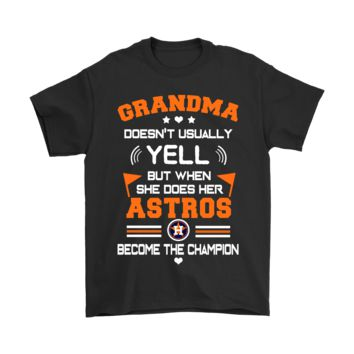 ESB8HB Grandma And Her Houston Astros Become The Champion Shirts