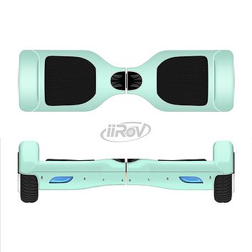 The Subtle Solid Green Full-Body Skin Set for the Smart Drifting SuperCharged iiRov HoverBoard