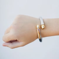 Gold Tipped Hinge Cuff