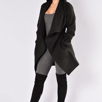 Manhattan Coat - Black