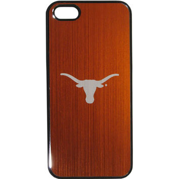 Texas Longhorns iPhone 5/5S Etched Snap on Case