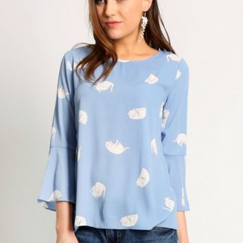 The Cat's Meow Blouse