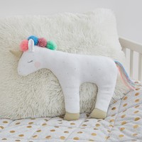 Stars/Dots Plush Unicorn