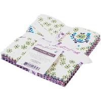 "Fabric, Shelburne Falls by Denyse Schmidt, Charm Pack,  5""X5"" Cuts, 30 pieces"