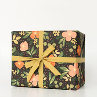 Rifle Paper Co. - Midnight Floral Wrapping Sheets