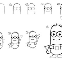 How to Draw A Minion Step By Step Guide [Video + Image]
