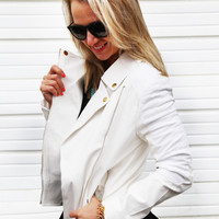 Heartbreaker Jacket {White}