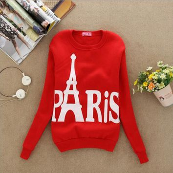 "Fashion ""Paris"" T-shirt Sweater MMS1255"