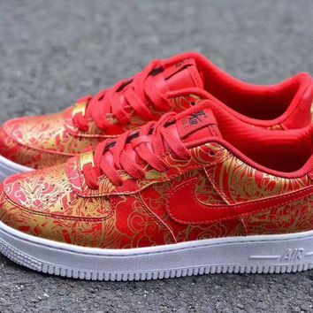 Nike Air Force 1 One Low Premium Lunar New Year iD Running Sport Casual Shoes 919729 992 Sneakers