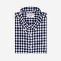 Frank & Oak Branford Gingham Shirt in Navy
