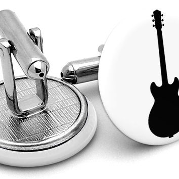 Guitar Acoustic Cufflinks