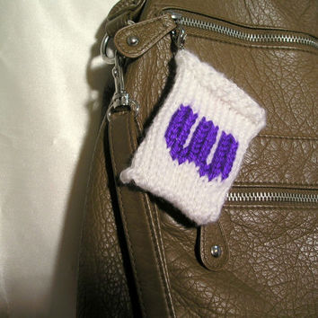"Gift Card Holder - Monogrammed ""W"" with clip"