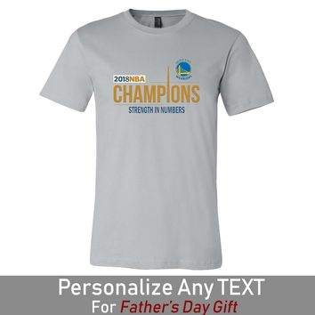 2018 NBA Champions Golden State Warriors Mens Shirt Father's Day Gift (14 Colors)