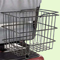 Rear Basket for Pride Scooters or Powerchairs ACCBSKT1004 - Pride Accessories Rear Baskets | TopMobility.com