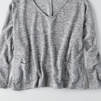 AEO Women's Don't Ask Why Pocket Sweater