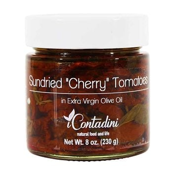 I Contadini Sundried Cherry Tomatoes in Extra Virgin Olive Oil, 8 oz.