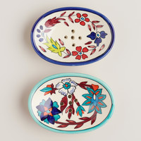 Hand-Painted Soap Dish - World Market