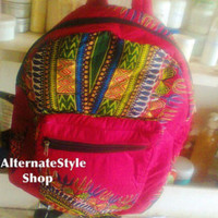 Dashiki Backpack - Different Colours Free Shipping Worldwide - Edit Listing - Etsy