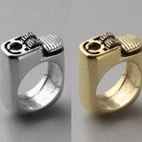 Fashion Punk Lighter Ring from LOOBACK FASHION STORE