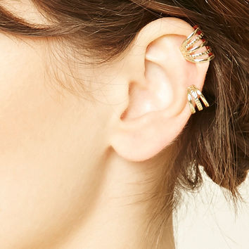 Etched Cutout Ear Cuff Set