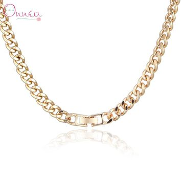 Onnea Fashion ZA men Jewelry Gold Tone Necklace Men necklace men colar  neckless thick chain necklace Jwelry for women