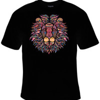 Lion Mosaic T-Shirt Men's