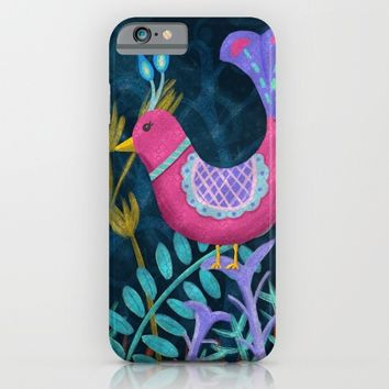 Night Jungle iPhone & iPod Case by Noonday Design