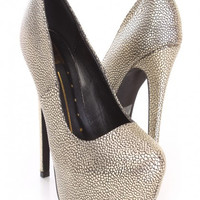 Sparkle Twinkle High Heel Shoes