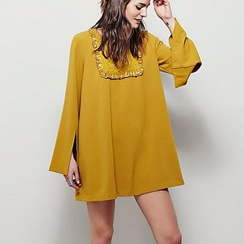 Free People Womens Cup Of Tea Mini Dress
