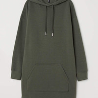 H&M Hooded Sweatshirt Dress $9.99