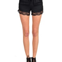Rehab Clothing - Laced Drawstring Shorts - Medium