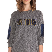 Essentiel On Tour Sweater in Gray