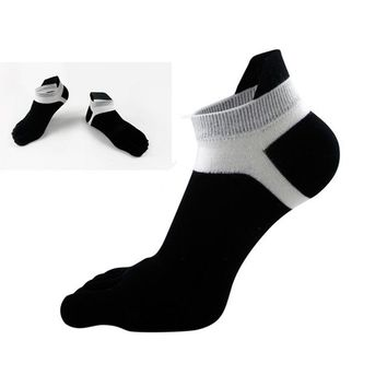 Family Friends party Board game 6 pairs Men Sport Deodorant Five Toe Finger Ankle Socks Breathable Cotton Socks Cycling Bowling Camping Hiking Sock 6 Colors AT_41_3