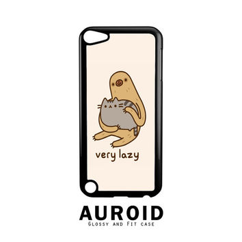Pusheen The Cat Very Lazy iPod Touch 5 Case Auroid