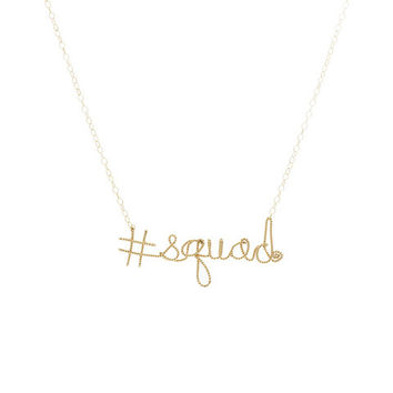 #Hashtag Necklace