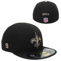 New Era New Orleans Saints Men's Customized On-Field 59FIFTY Football Structured Fitted Hat